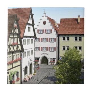 Bavaria Town From Above Ceramic Tile
