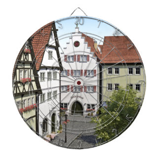 Bavaria Town From Above Dartboard