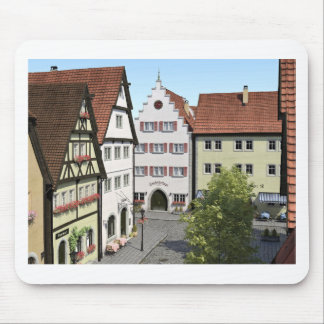 Bavaria Town From Above Mouse Pad