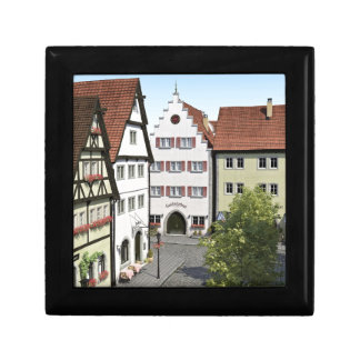 Bavaria Town From Above Small Square Gift Box