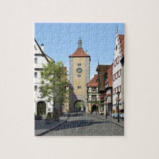 Bavaria Town Main Street Jigsaw Puzzle