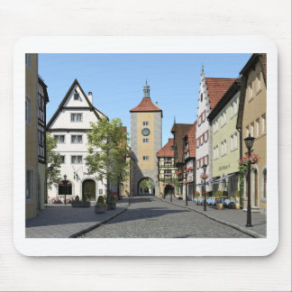 Bavaria Town Main Street Mouse Pad