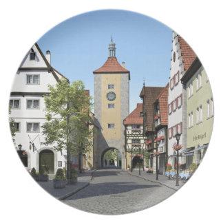 Bavaria Town Main Street Plate