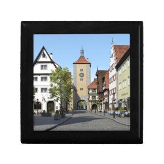 Bavaria Town Main Street Small Square Gift Box