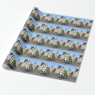 Bavaria Town Main Street Wrapping Paper
