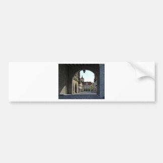 Bavaria Town Through an Arch Bumper Sticker