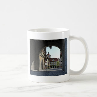 Bavaria Town Through an Arch Coffee Mug