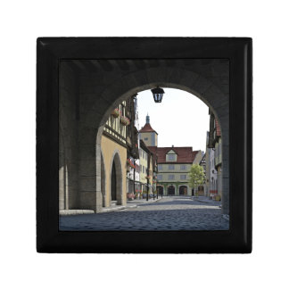 Bavaria Town Through an Arch Gift Box