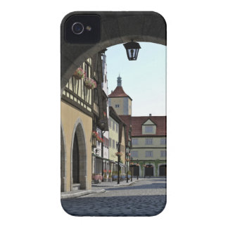 Bavaria Town Through an Arch iPhone 4 Covers