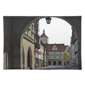 Bavaria Town Through an Arch Placemat