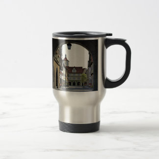 Bavaria Town Through an Arch Travel Mug
