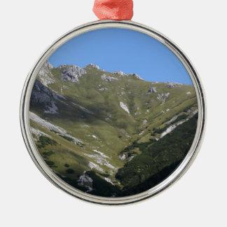 Bavarian Alps near Berchtesgaden Metal Ornament