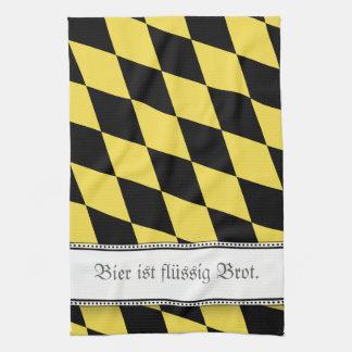 Bavarian Beer is great Tea Towel