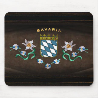 Bavarian Coat of Arms Mouse Pad