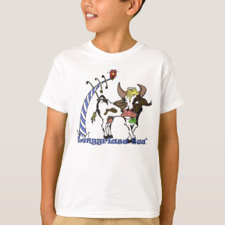 Bavarian cow with clover sheet T-Shirt