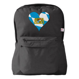 Bavarian flag backpack