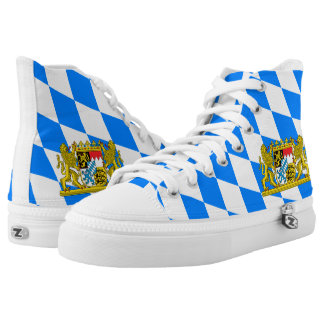 Bavarian flag high tops