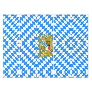 Bavarian flag tablecloth