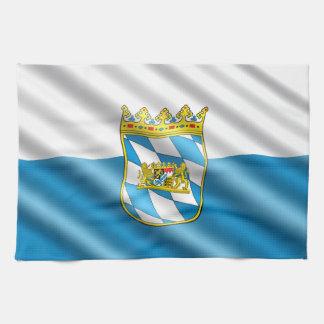 Bavarian flag tea towel
