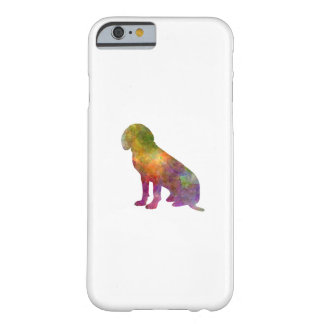 Bavarian Mountain Scenthound in watercolor Barely There iPhone 6 Case