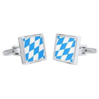 Bavarian Rautn Silver Finish Cufflinks