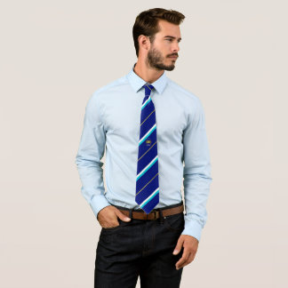 Bavarian stripes flag tie