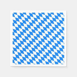 Bavarian Style Oktoberfest Party Paper Napkins Disposable Serviette