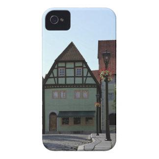 Bavarian Town Street Corner Scene iPhone 4 Case-Mate Cases