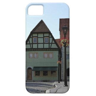 Bavarian Town Street Corner Scene iPhone 5 Case