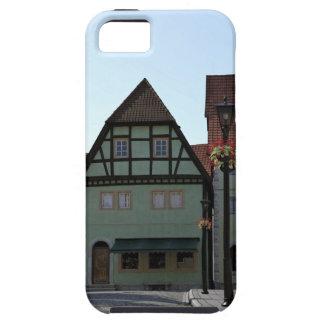 Bavarian Town Street Corner Scene iPhone 5 Cover