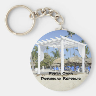 Bavaro Beach on the island of Punta Cana Key Ring