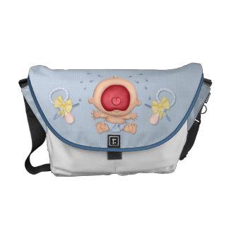 Bawling Baby Boy Commuter Bag