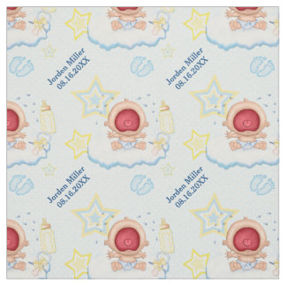 Bawling Baby Boy - Custom Text Fabric