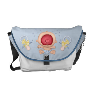 Bawling Baby Boy Commuter Bag