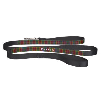 Baxter Clan Plaid Dog Leash