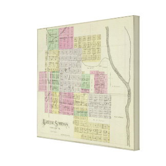 Baxter Springs, Cherokee County, Kansas Canvas Prints