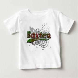 Baxter Tartan Grunge T Shirt