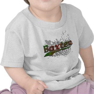 Baxter Tartan Grunge Tshirts
