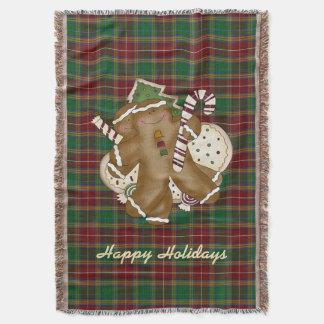 Baxter Tartan Holiday Plaid Blanket