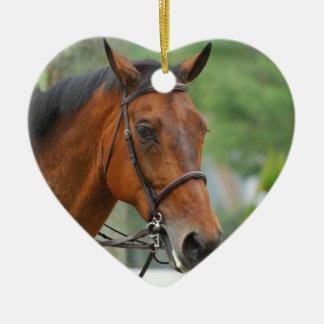 Bay Arab Horse Ornament