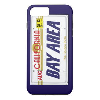 Bay Area Cali Plates iPhone 7 Plus Case