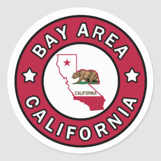 Bay Area California sticker