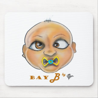 Bay B Face Mouse Pad