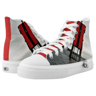 BAY BOUY SNEAKERS HIGH TOPS SHOES
