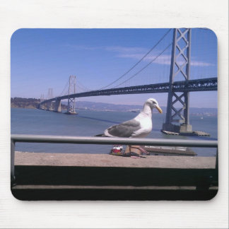 Bay Bridge and Friend Mouse Pad