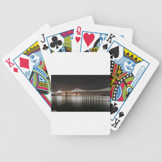 Bay Bridge Bicycle Playing Cards
