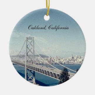 Bay Bridge California Ornament