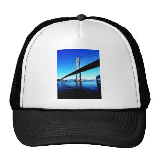Bay Bridge Northern California San Francisco Hats