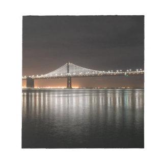 Bay Bridge Notepad