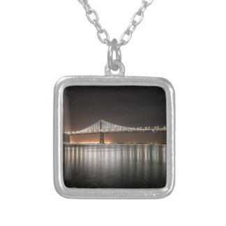Bay Bridge Silver Plated Necklace